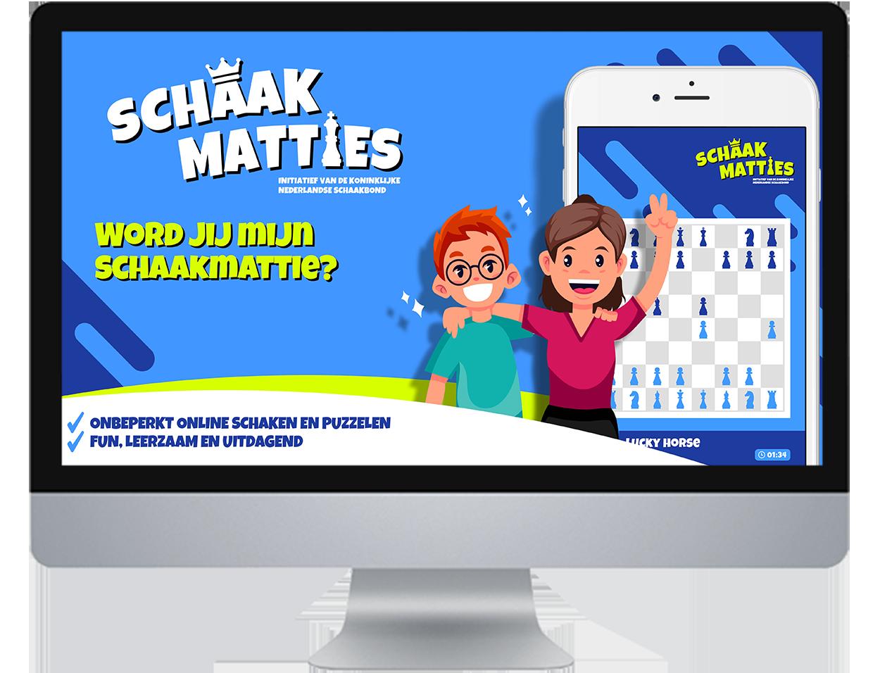 Kids online schaken